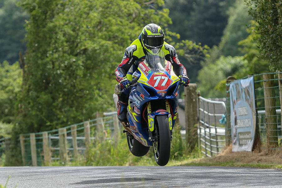 Productive Return To Roads Action At Armoy For 2016 Senior Manx GP Champ Weeden