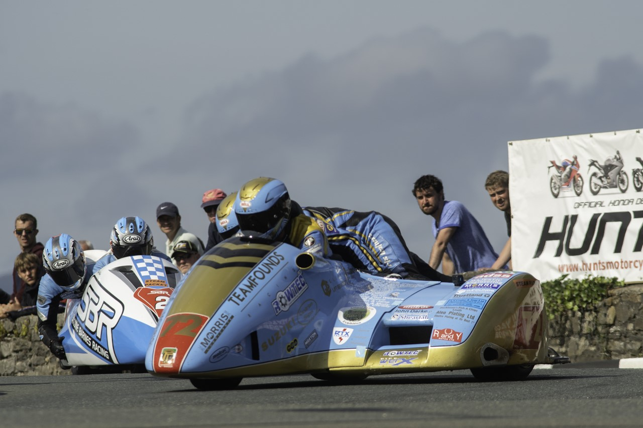 Southern 100: Drama Filled Sidecar Championship Goes To Founds/Walmsley