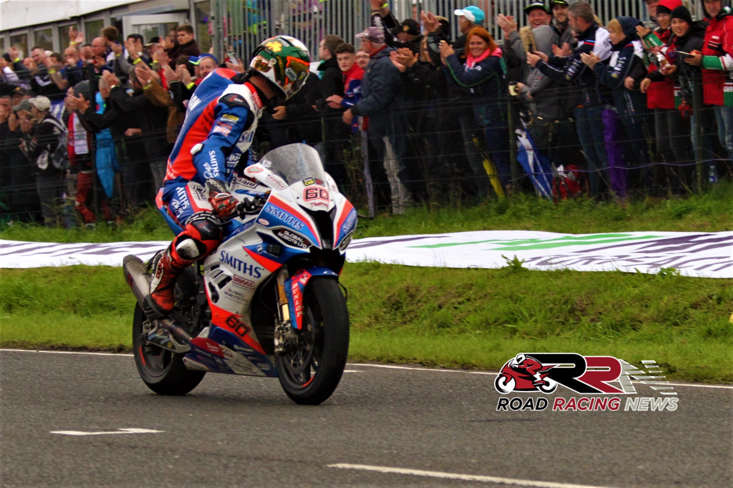 FonaCAB Ulster Grand Prix: World's Fastest Road Racer Hickman Retains MMB Surfacing Superbike Title
