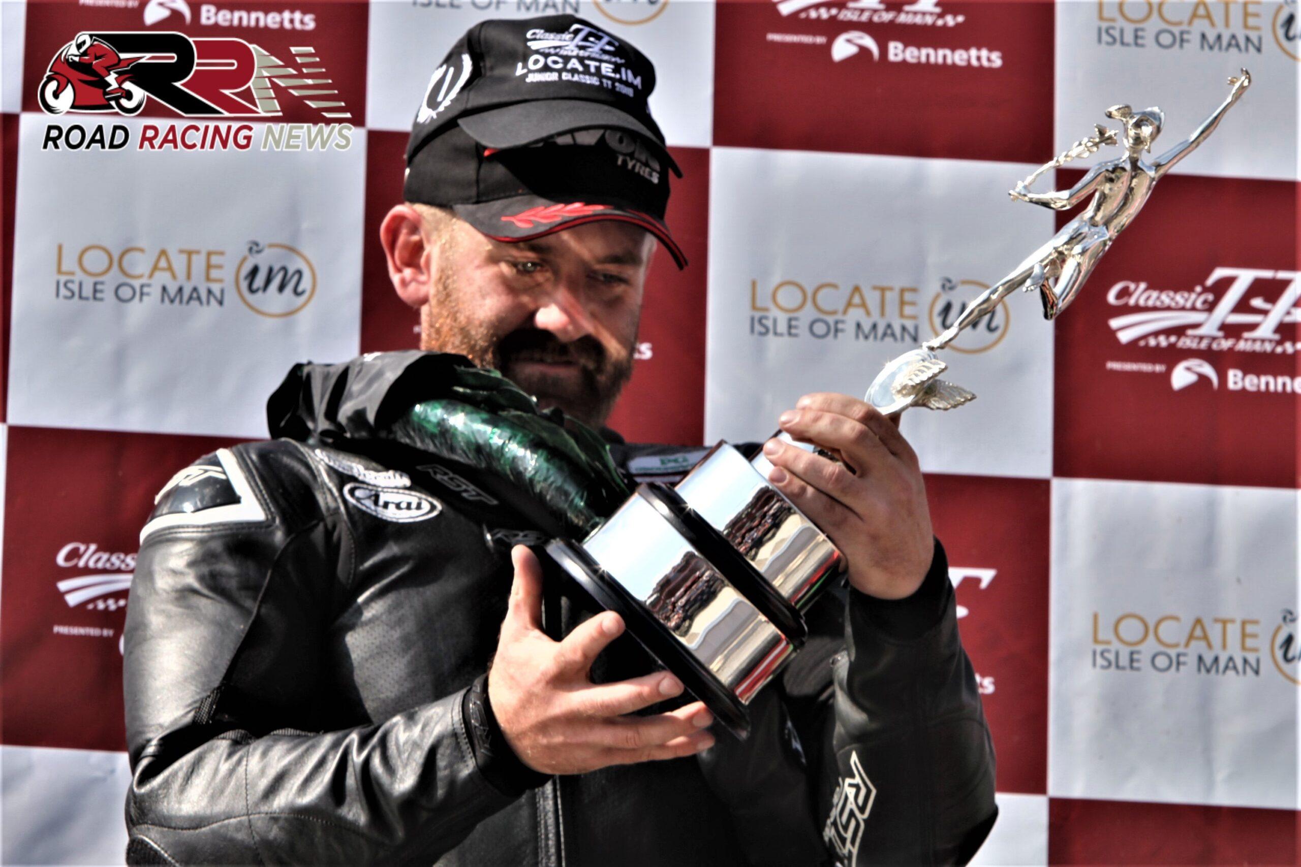 Finally A Classic TT Champion – Coward Scoops Locate.im Junior Race Victory