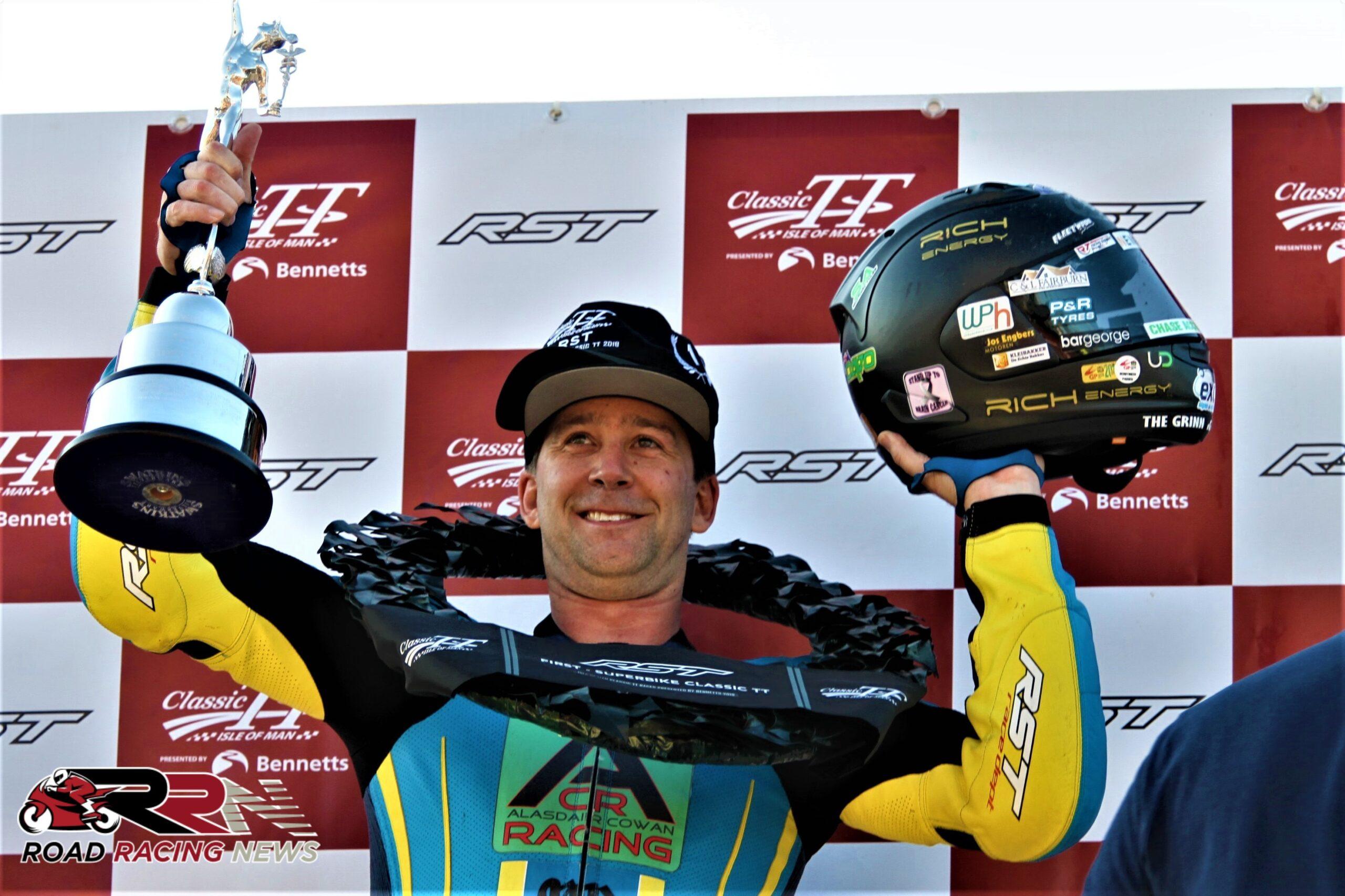 Classic TT: Johnson Wins Attritional, Drama Filled RST Superbike Race