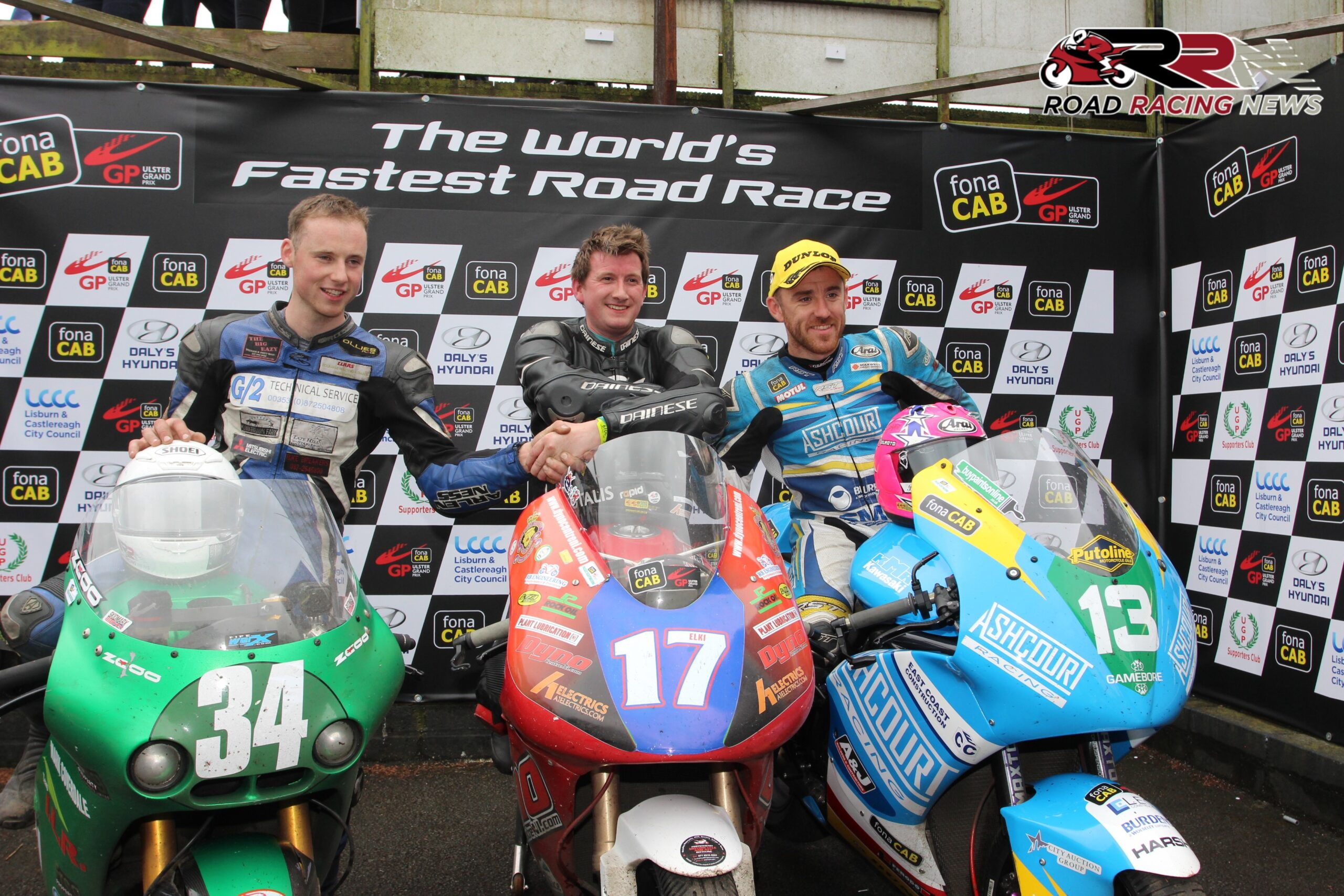 FonaCAB Ulster Grand Prix: Elkin Edges Loughlin For Maxwell Freight Services Twins Victory