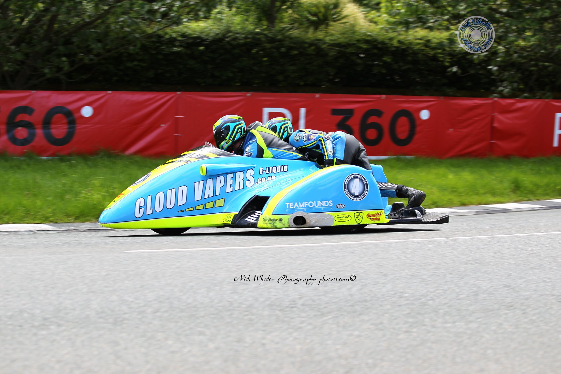 Top Six Sidecar Roads Teams Of 2019: No.5 Alan Founds/Jake Lowther