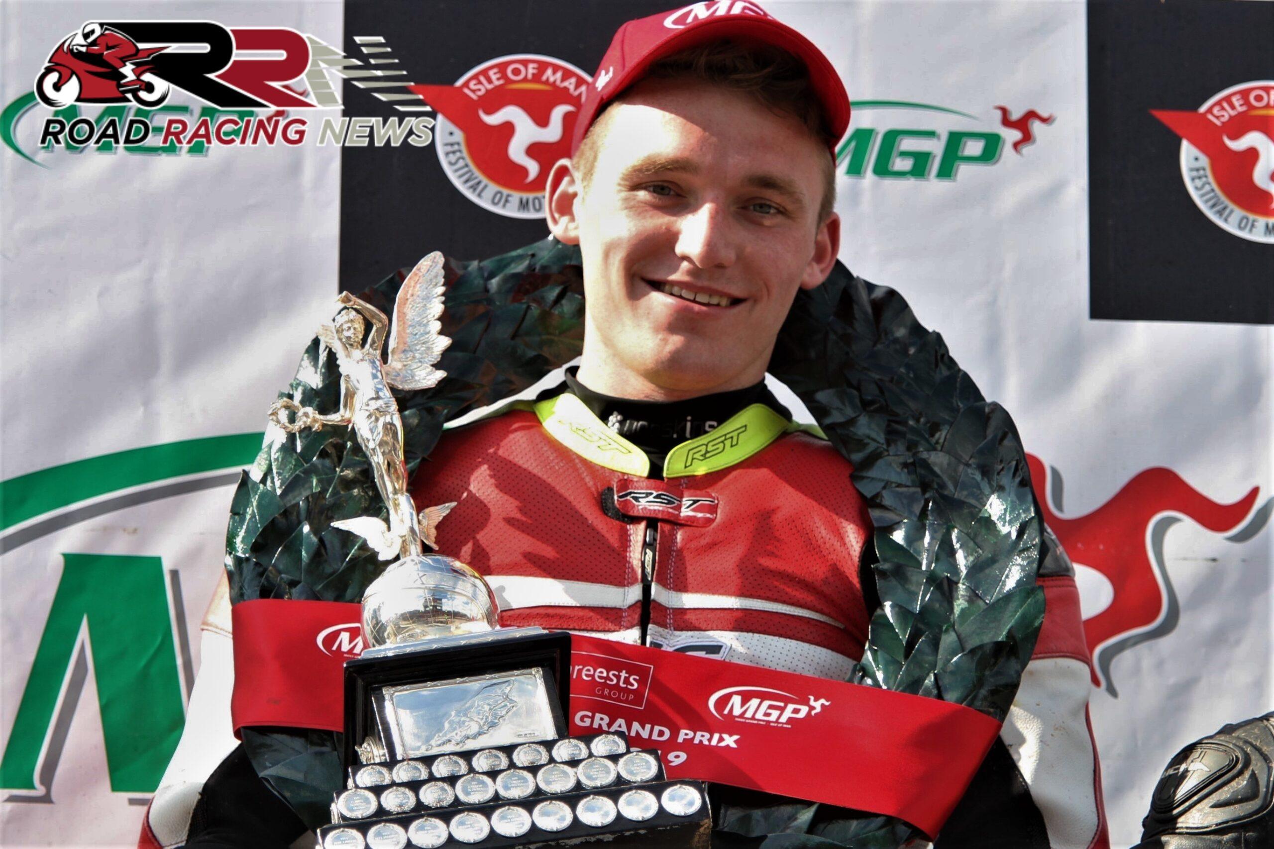 Junior/Senior Manx GP Winner Harrison Gains Support From Steam Packet Company