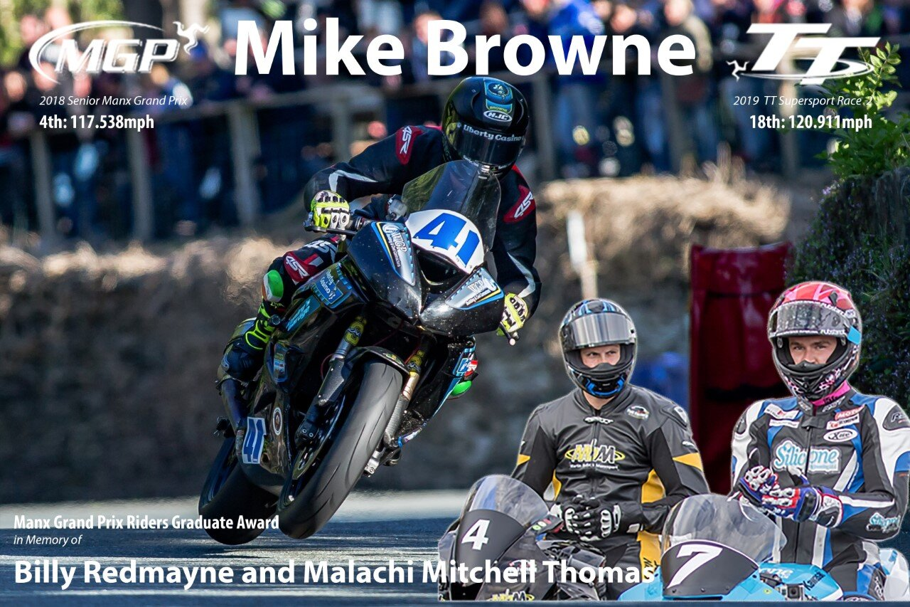 Browne Receives Prestigious Billy Redmayne/Malachi Mitchell Thomas Manx GP Graduate Award