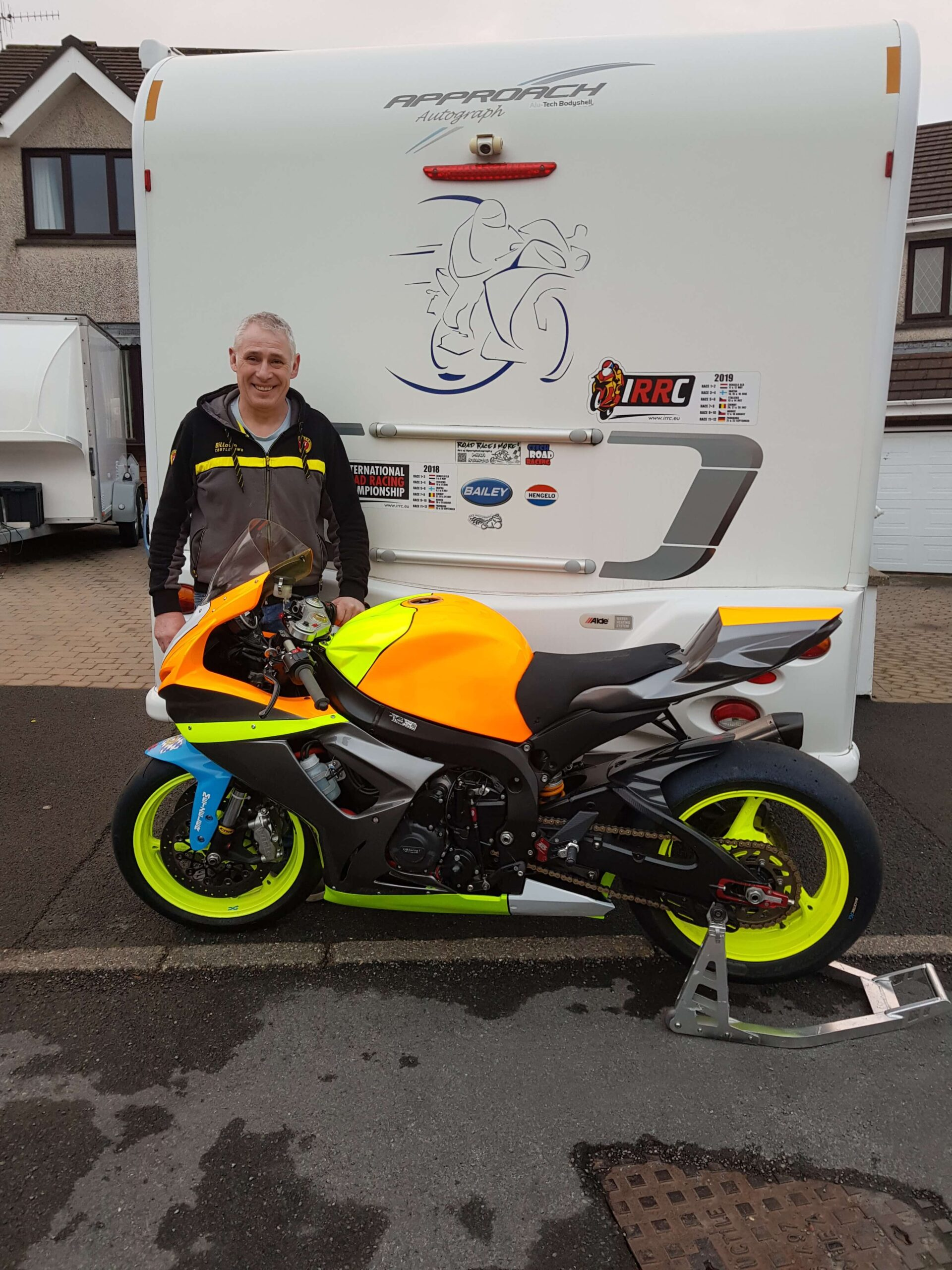 Dependable Manx Roads Exponent Moffitt Targets IRRC Events With FC Moore Team