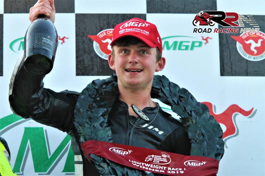 Lightweight/Junior Manx GP Lap Record Holder Hind To Make Oliver's Mount, Scarborough Debut
