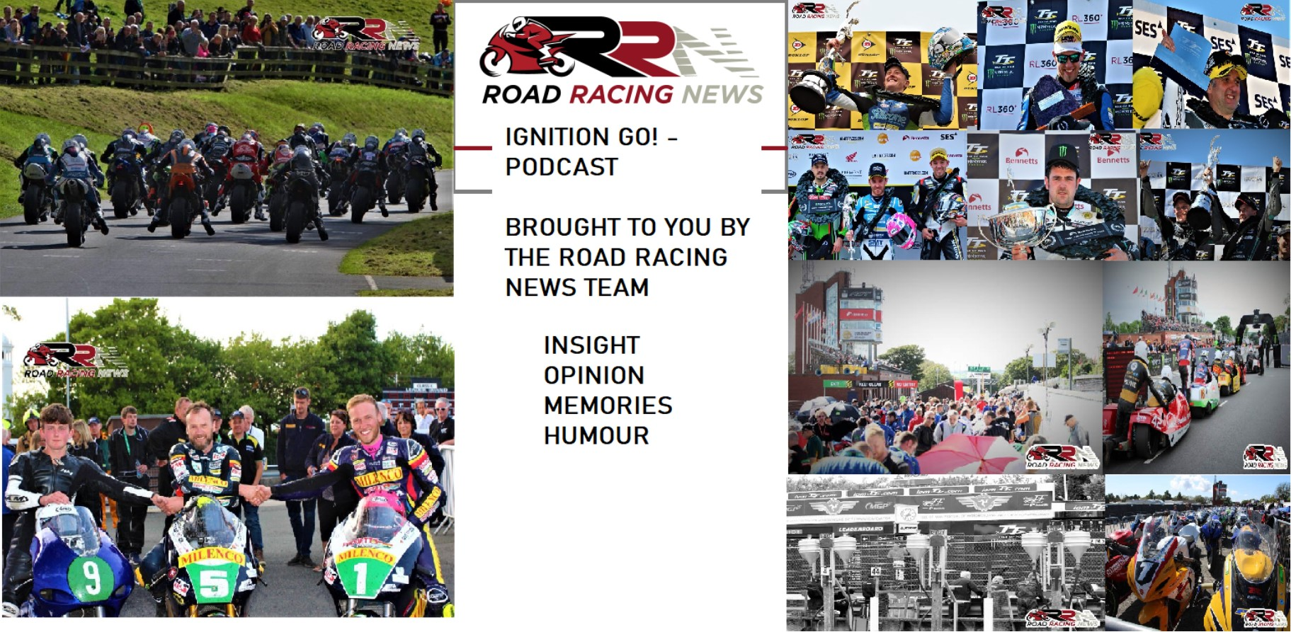 Road Racing News Podcast Episode 3 – Three Wheeling Superstars