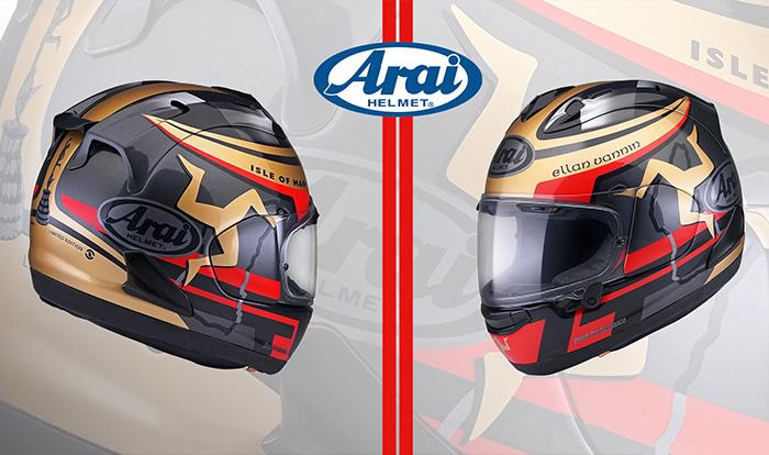 Arai's Latest TT Themed Helmet Breaks Cover