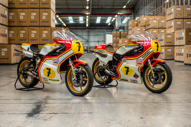 World Championship Winning XR14 Suzuki's To Grace Barry Sheene Classic