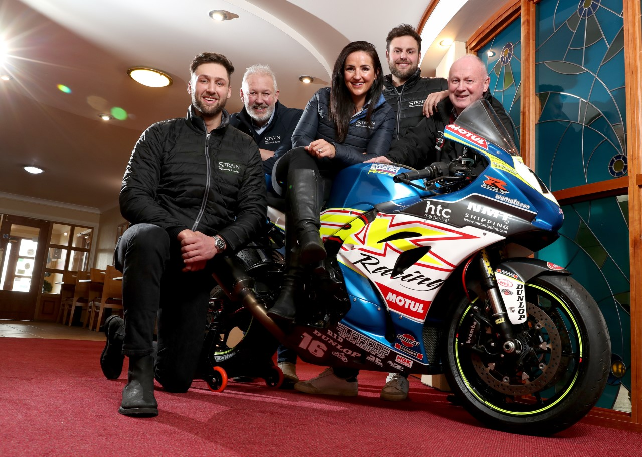 New NW200 Superstock Race 1 Title Supporters, Leading Industrial Engineering Company Strain Engineering