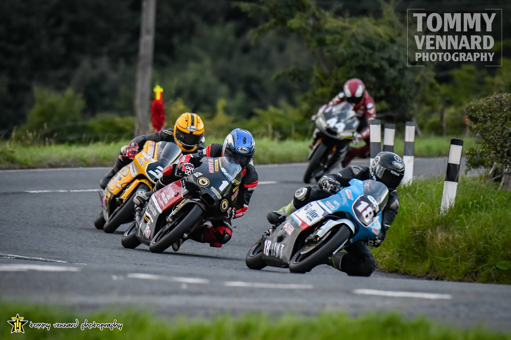 Stats: Quickest 125/Moto 3, 250, 400 Ulster GP Exponents