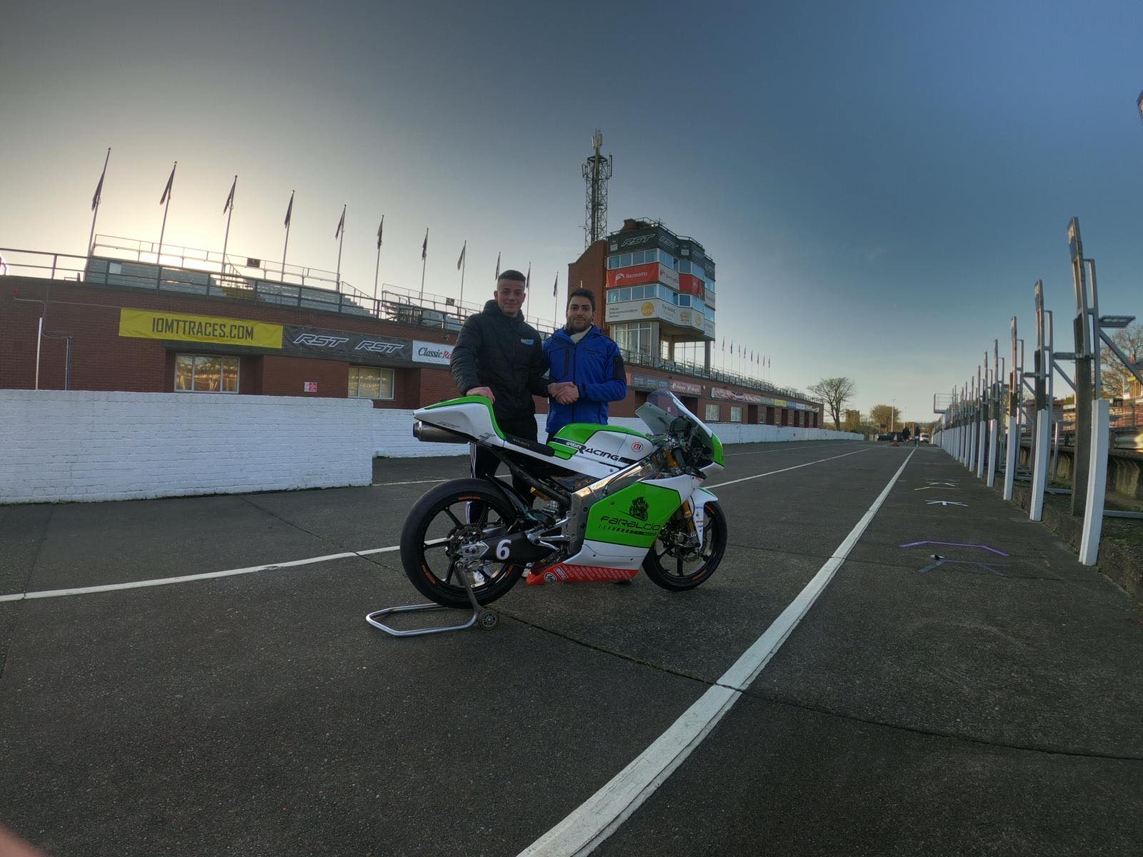 50cc ACU Classics Champion Grief Retains Faraldo Racing Ride For 2021 Manx GP