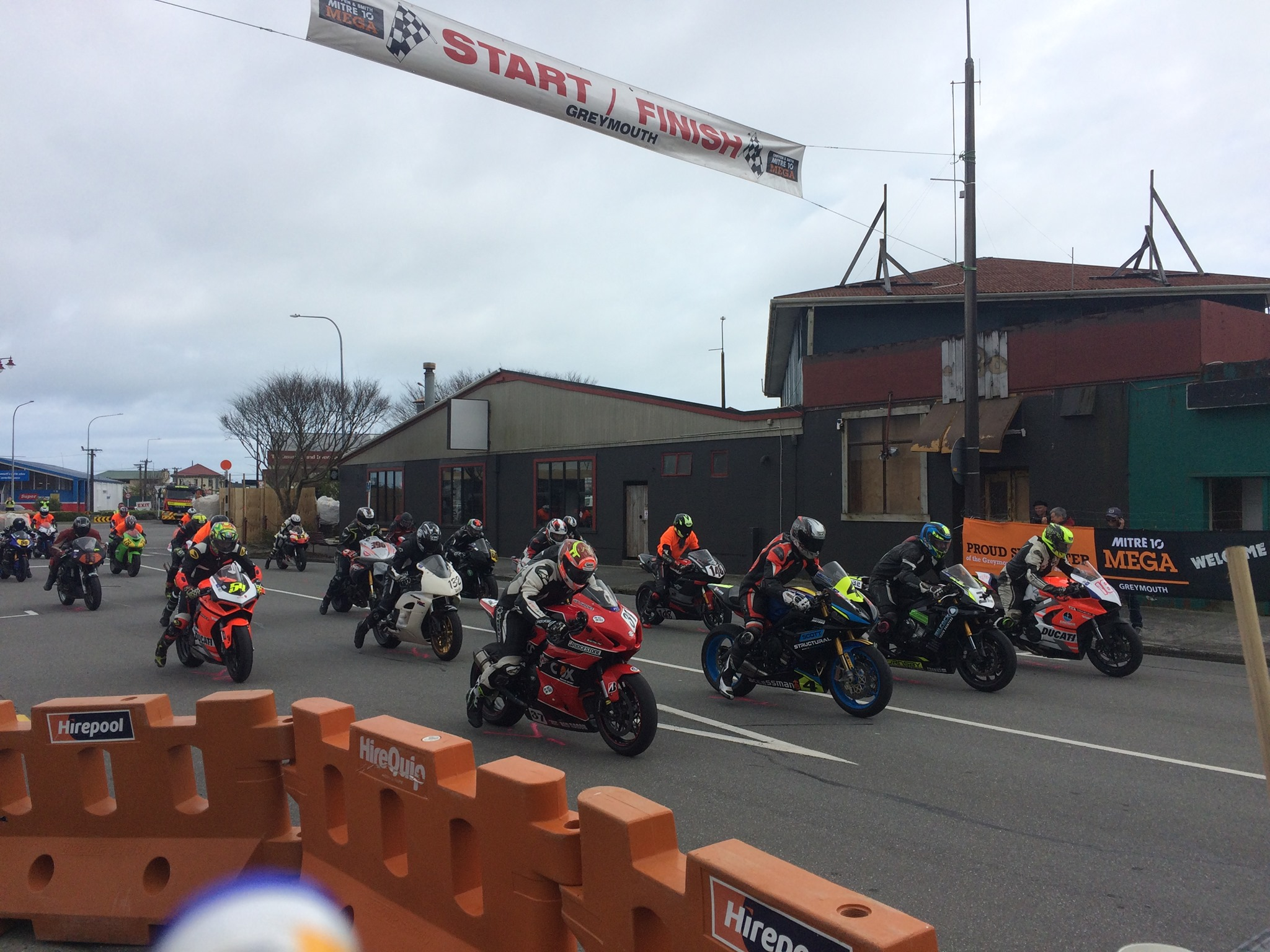 31st Greymouth Street Races Beckons
