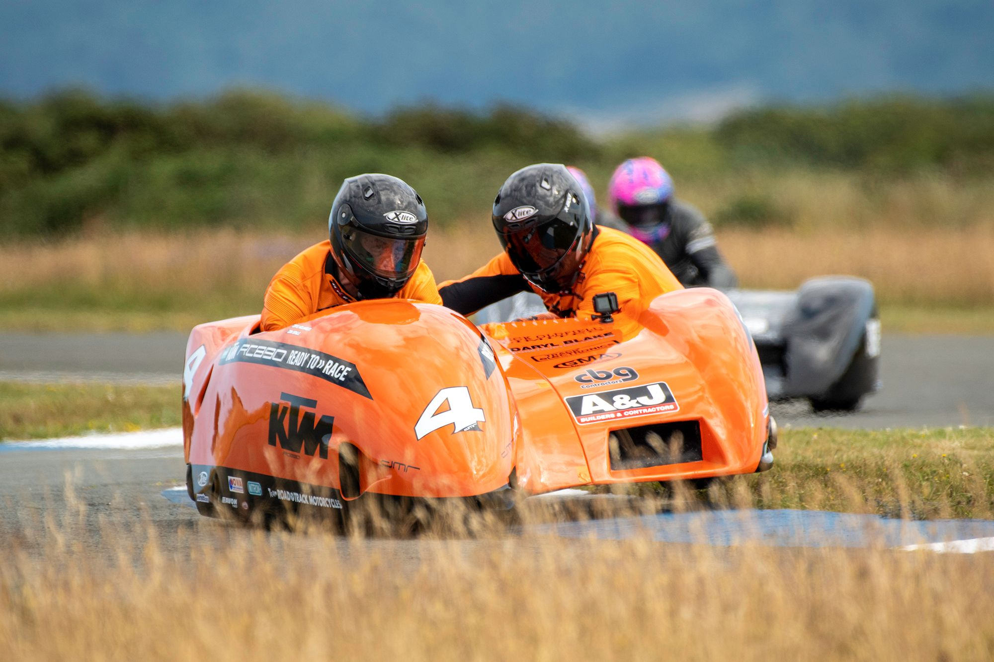 Molyneux/Sayle Give KTM Powered Outfit First Wins
