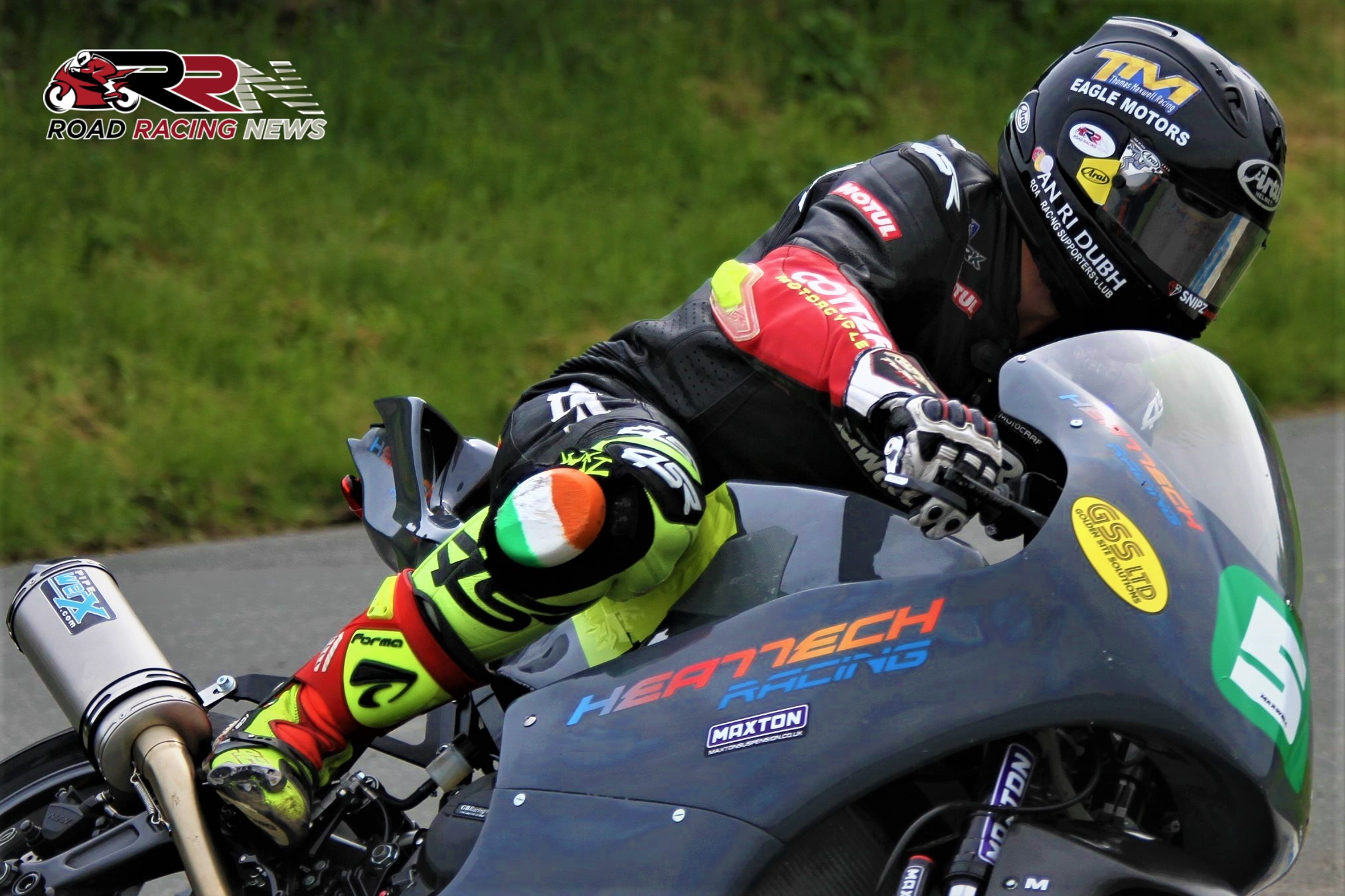 Maxwell Leads Heattech Racing's Armoy Challenge