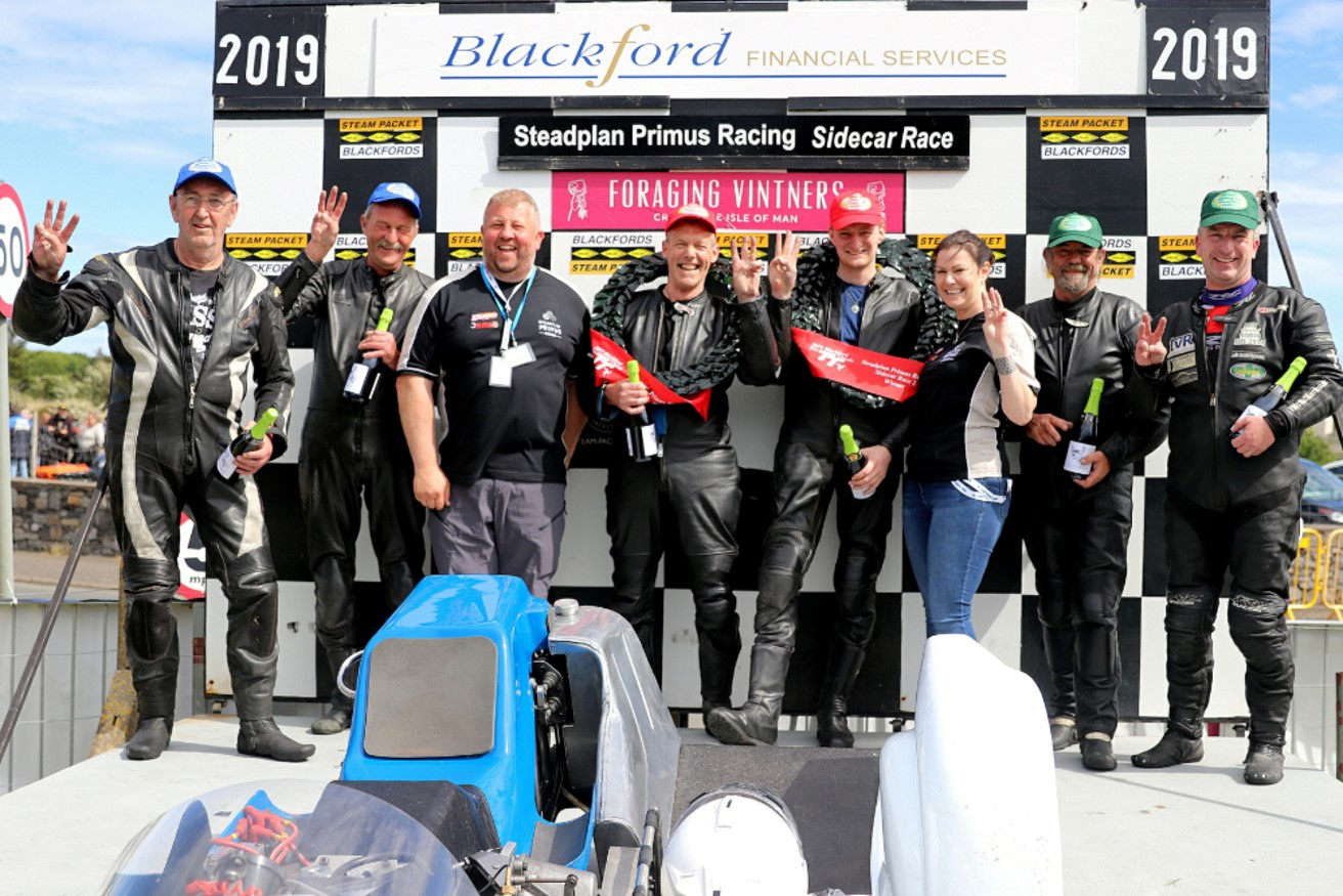 Blackford Financial Services/Pre TT Classic Tie-Up Continues
